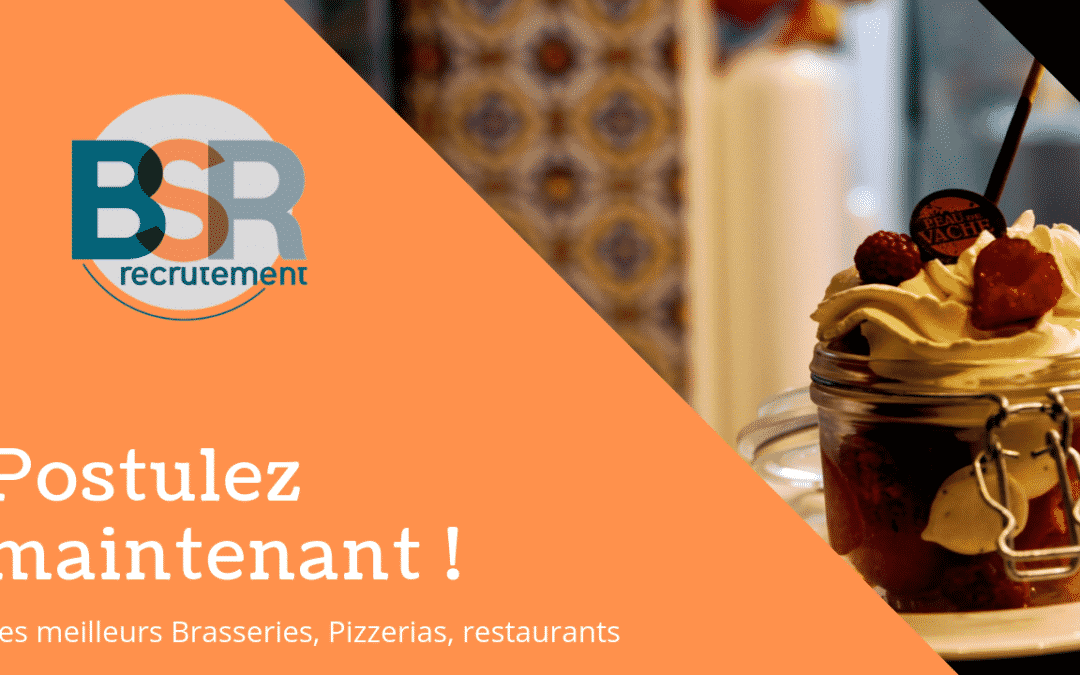 7 restaurants qui recrutent à Nantes !