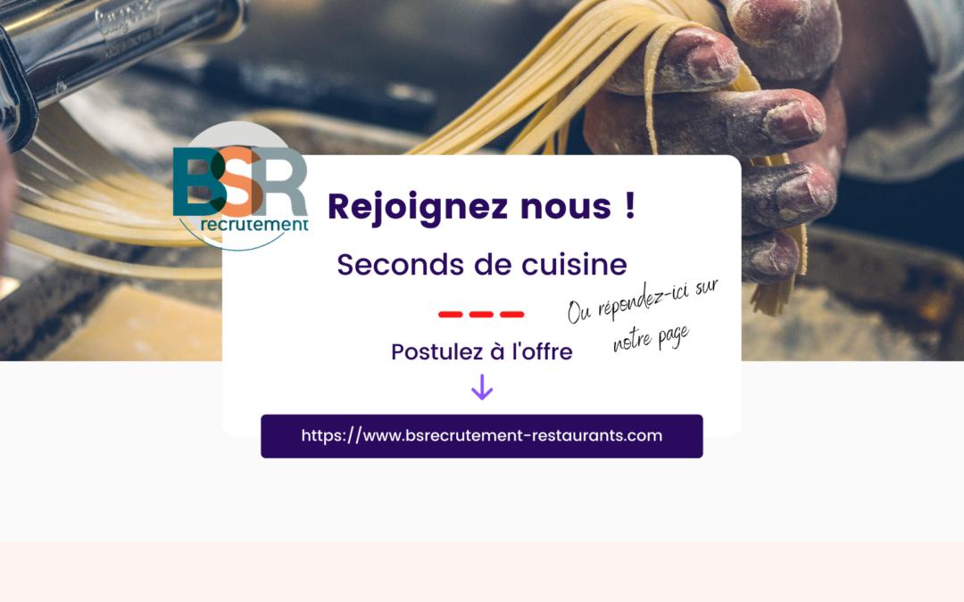 Second de cuisine